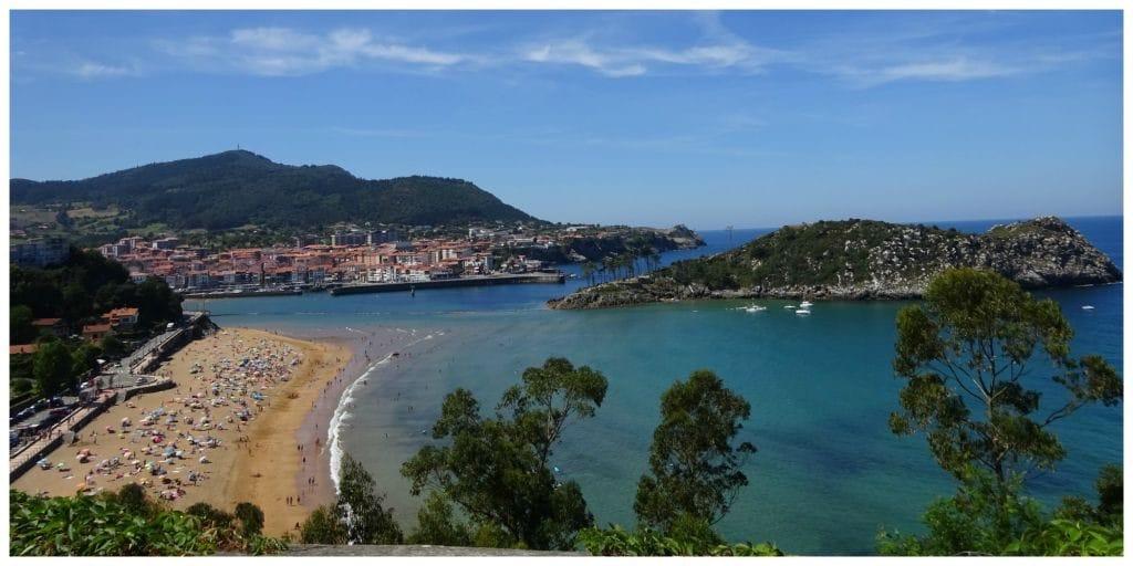 Baskenland roadtrip kust onderweg