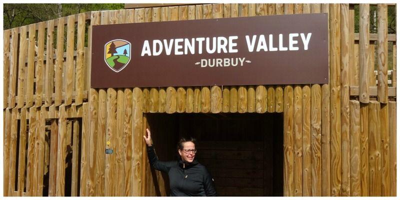 België Adventure Valley Durbuy poort