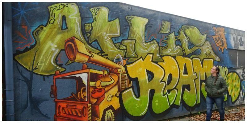 Antwerpen Luchtbal is volop in beweging én staat bol van de street art