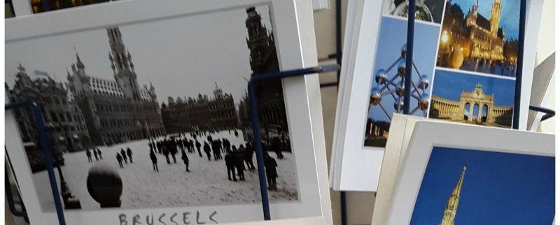 België Brussel ansichtkaarten