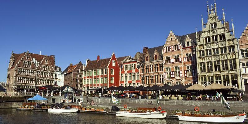 De beste steden in Europa om een terrasje te pakken België Gent
