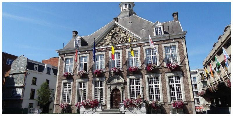 België-Hasselt-Groenplein Michelin De Groene Reisgids België