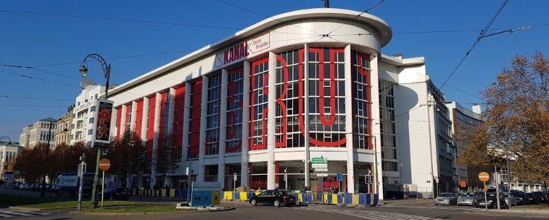 België Kanal Centre Pompidou Brussel facade