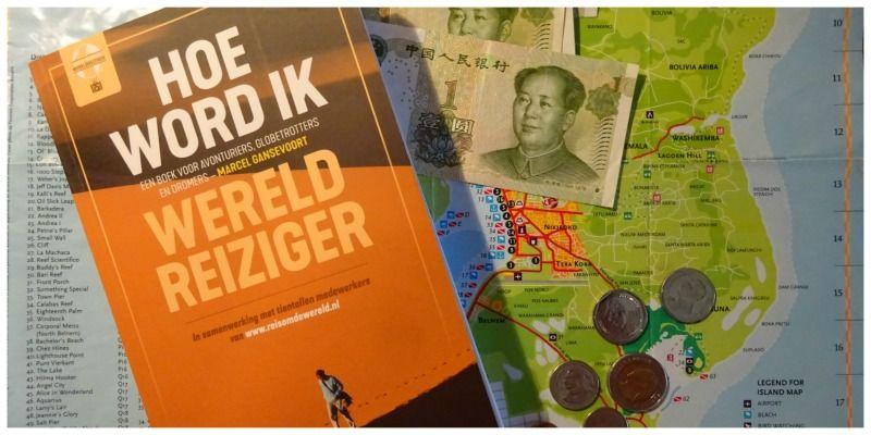 Boek Hoe word ik wereld reiziger kaart
