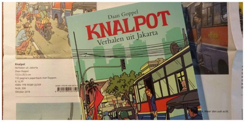 Boek Knalpot - Verhalen uit Jakarta Daan Goppel