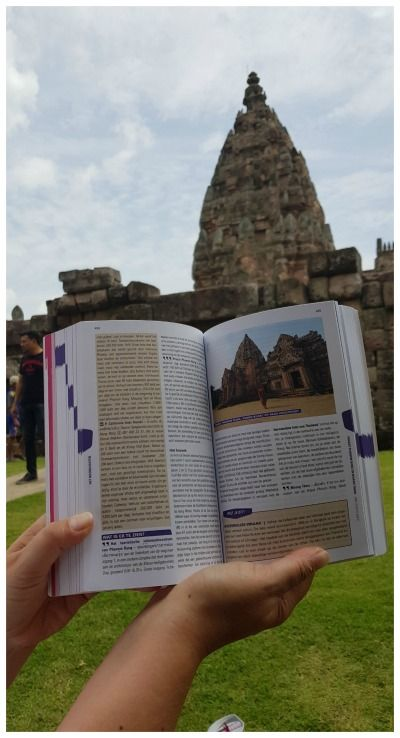 Boek Trotter Thailand tempel Prasat Phanom Rung Buriram Isaan Thailand