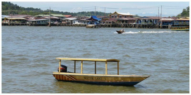 Brunei Kampung Water Taxi