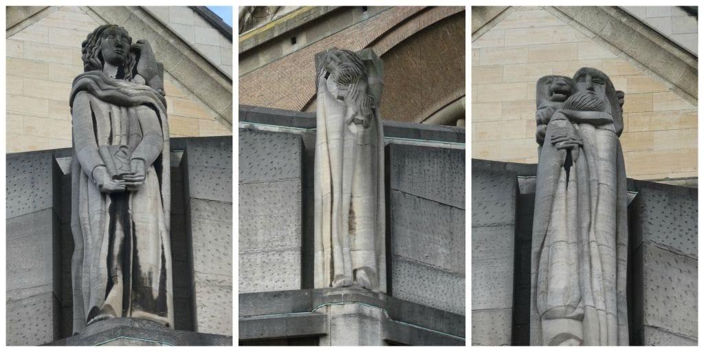 Nationale Basiliek Koekelberg Brussel Beelden