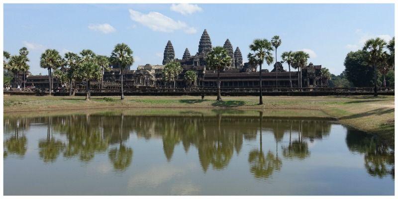 Cambodja-Siem-Reap-Local-Life-Angkor-weerspiegeling