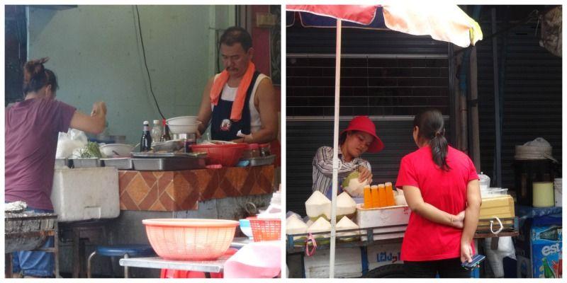 Cambodja Thailand reis Bangkok Siam Streetfood