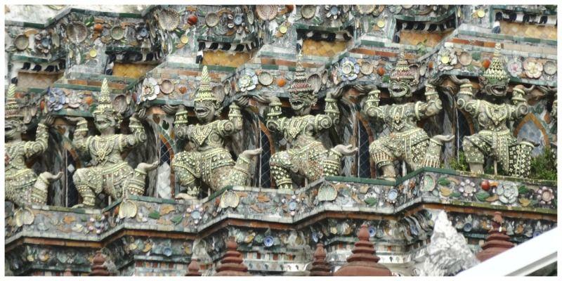Cambodja Thailand reis Bangkok Wat Arun