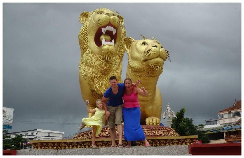 Cambodja Thailand reis Sihanoukvile