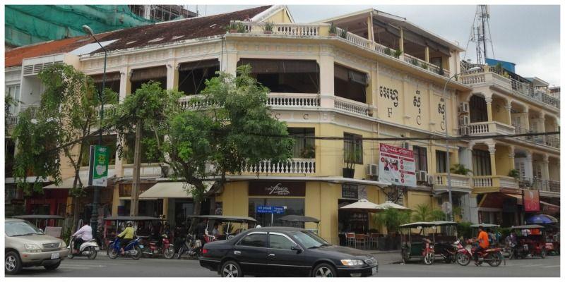 Cambodja Thailand reis sightseeing Phnom Penh