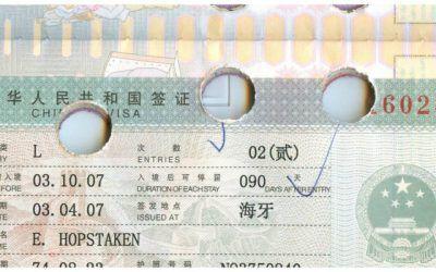 Het reisleed dat visumaanvraag heet. Waarom ik het online aanvraag