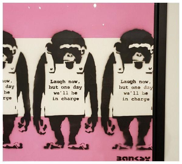 Cultuur snuiven in Moco- en het Stedelijk Museum Amsterdam Banksy