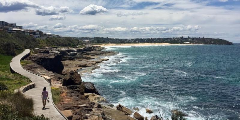 Australië ruige kust