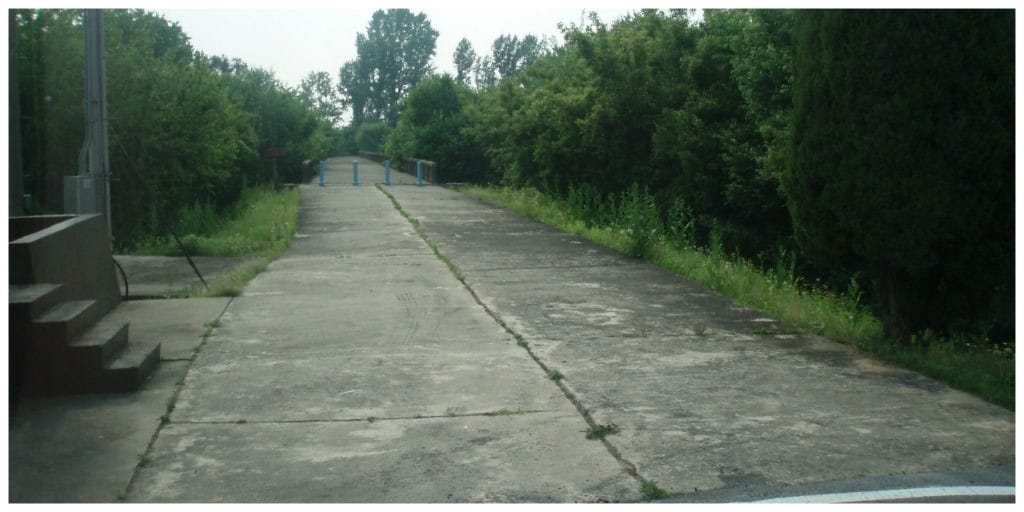 DMZ Bridge of no return