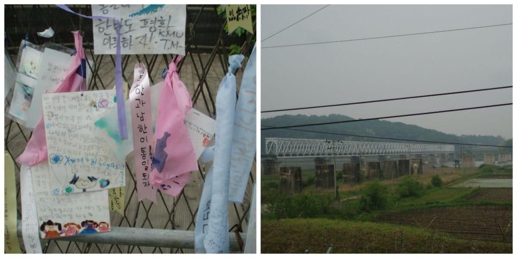 DMZ Imjingak Bridge of freedom