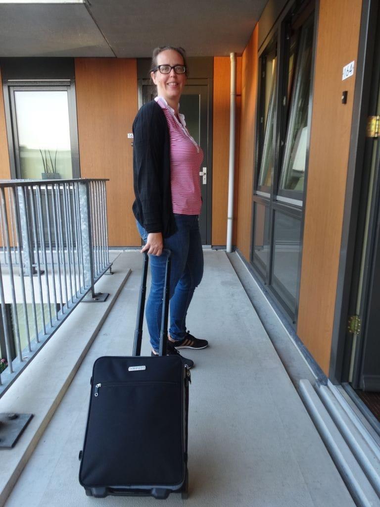 Handbagage vertrek Balanzza Truco 3-in-1 koffer