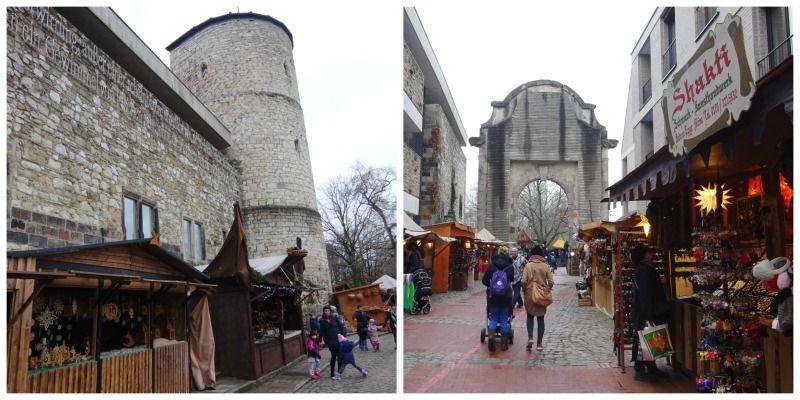 Duitsland Hannover Kerstmarkt historische markt
