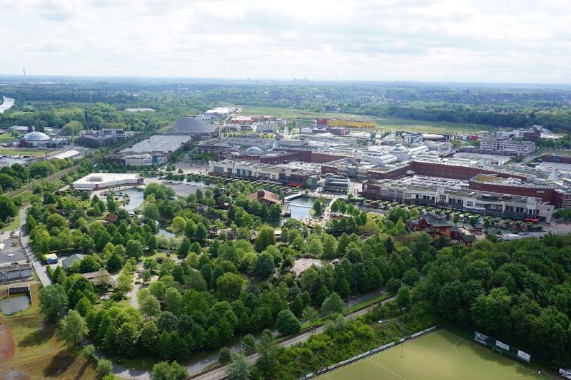 Duitsland Ruhrgebied Gasometer Oberhausen