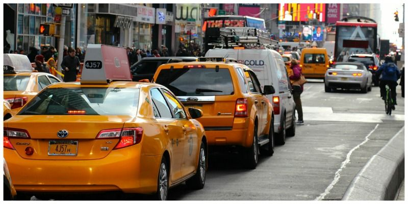 ESTA Amerika yellow cab New York