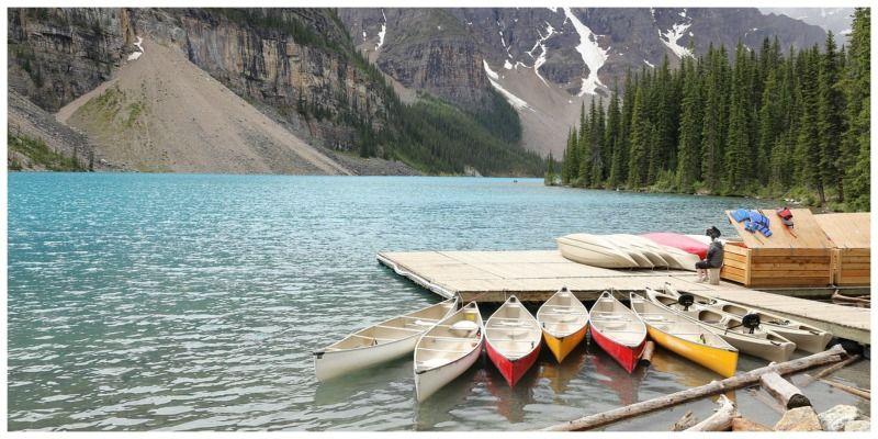 ETA Canada outdoors Moraine Lake