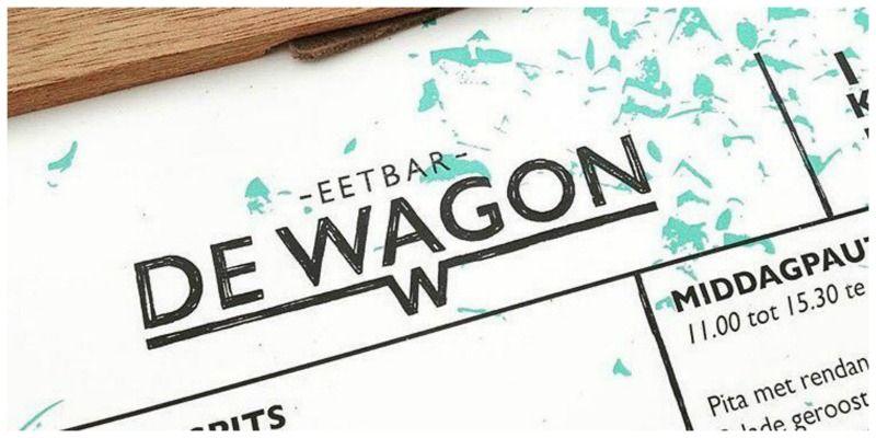 Eetbar De Wagon menukaart