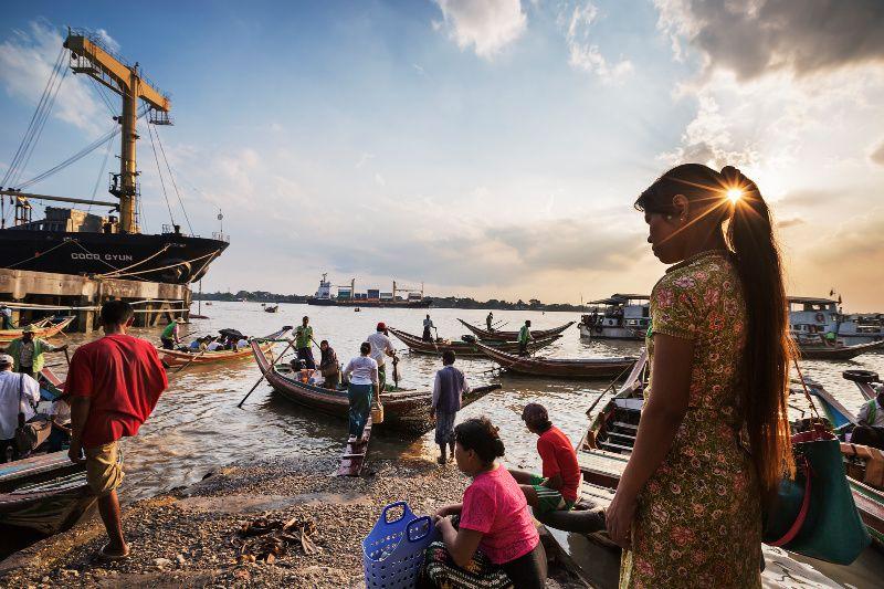 Jeroen Swolfs Streets of the World Myanmar Yangon