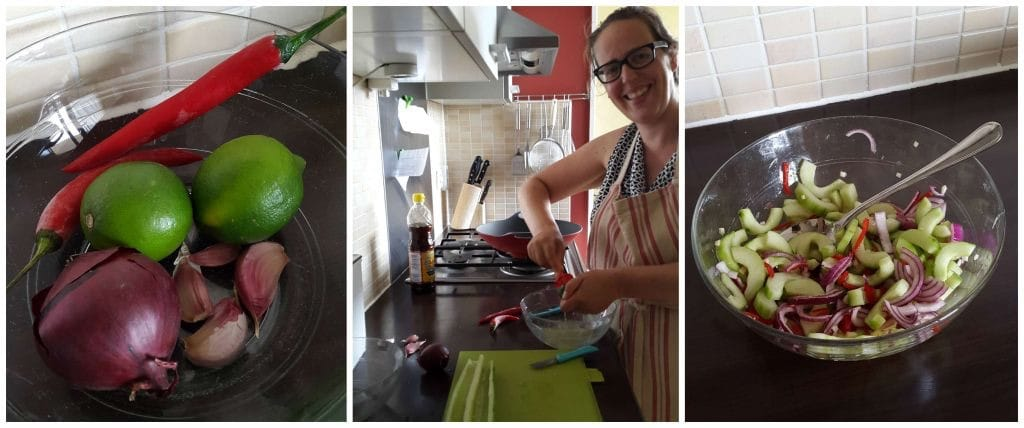 Food & Travel Tag Komkommersalade
