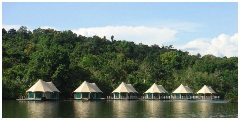 Glamping Cambodja 4 rivers Floating Lodge