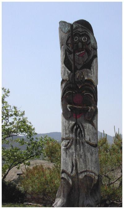 Hahoe Folk Village Zuid-Korea