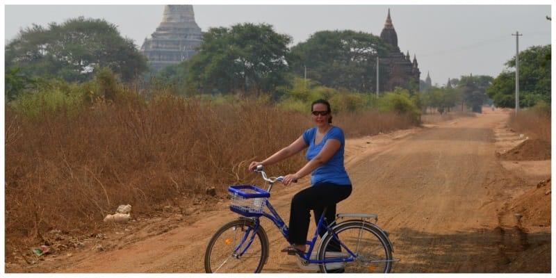 Highlights Myanmar Bagan fietsen