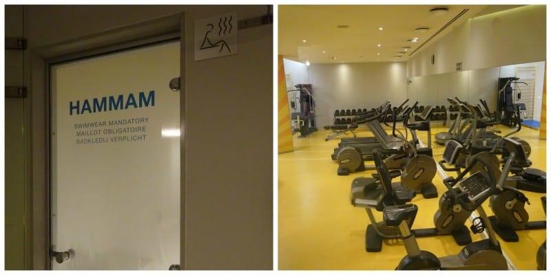 Hotel Novotel Brussels Centre Tour Noire sportschool