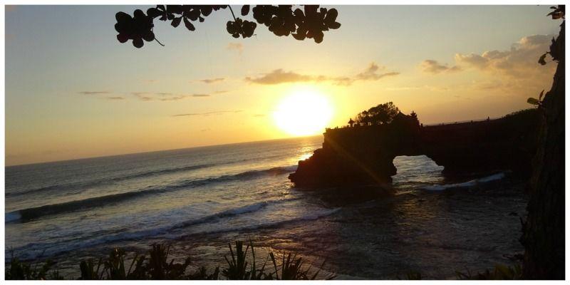 Tanah lot nabij Canggu Bali Indonesië