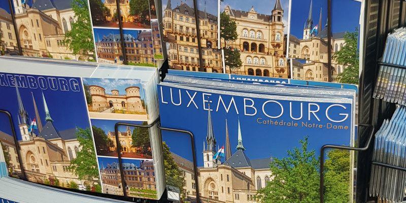 Luxemburg Luxemburg stad in 48 uur ansichtkaarten