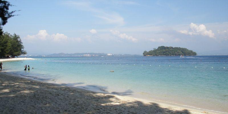 Maleisie strand op Tunku Abdul Rahman National Park