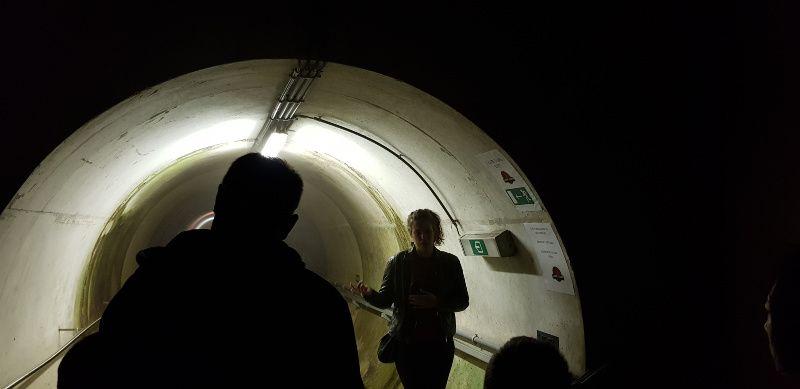 tunnel stuwdam Eau d'Heure