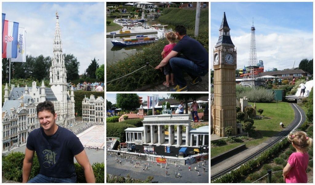 Belgie Brussel Mini-Europe overzicht