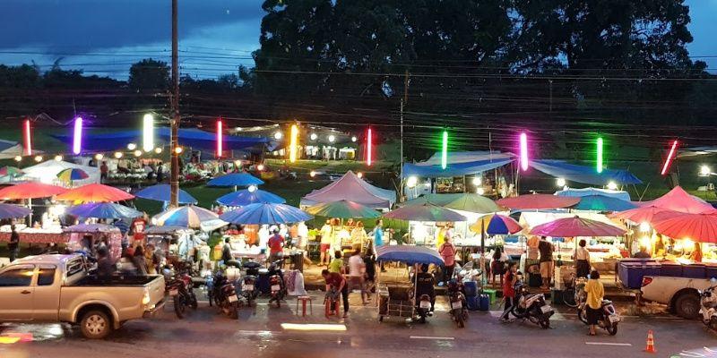 Nakhon Phanom nightmarket