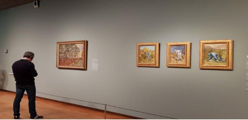 Nederland Amsterdam Van Gogh Museum volwassenen