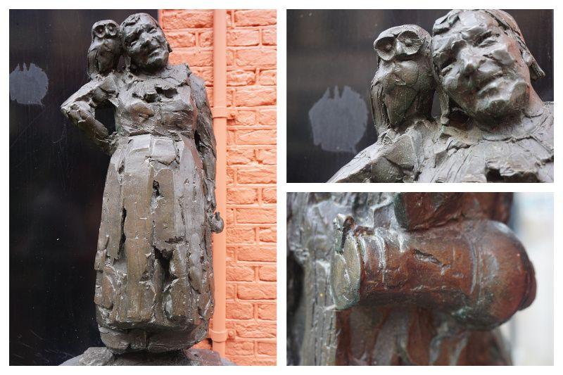 Nederland Haarlem Malle Babbe beeldje Lennart Nijgh Rob de Nijs