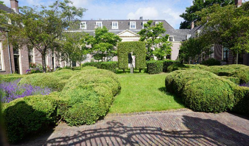 Nederland Haarlem hofje