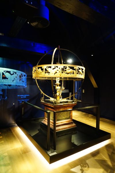 Nederland Leiden Rijksmuseum Boerhaave planetarium