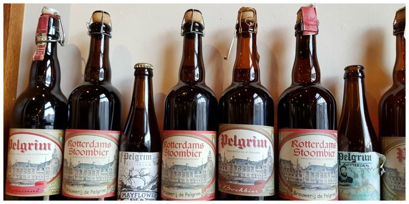 Nederland Rotterdam bier Stadsbrouwerij de Pelgrim