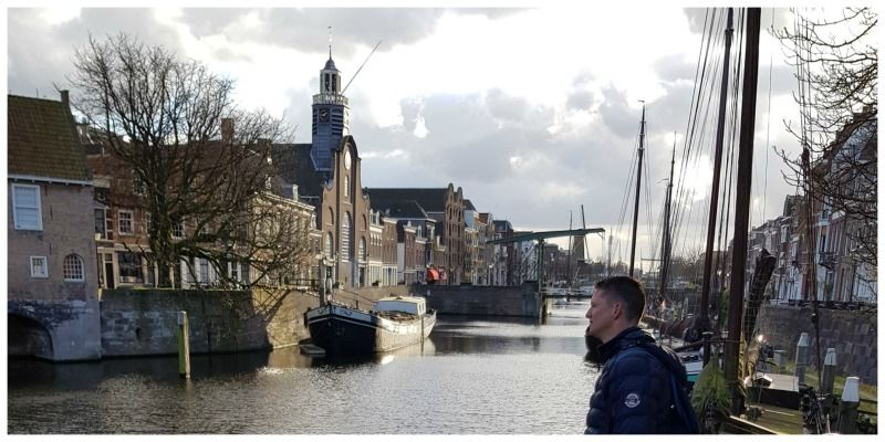 Nederland Rotterdam wandeling Gegarandeerd Onregelmatig