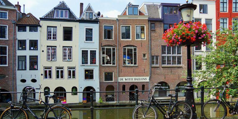 Nederland Utrecht gracht