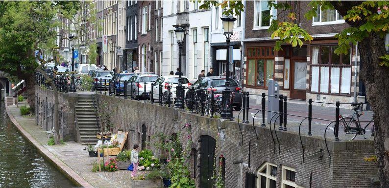 Nederland Utrecht grachten