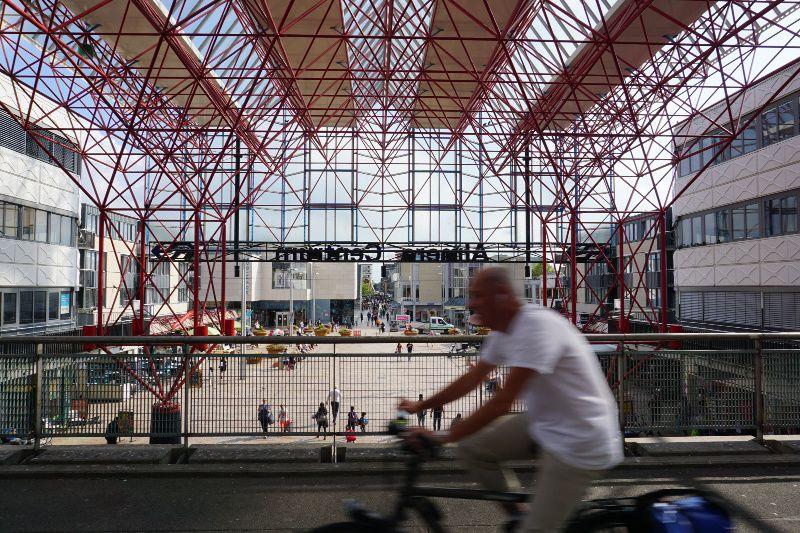 Nederland station Almere Centrum