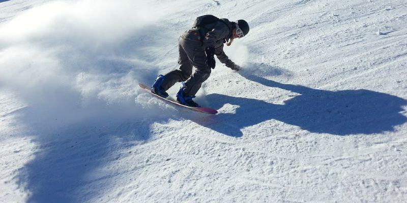Nieuw-Zeeland Mount Ruapehu snowboard